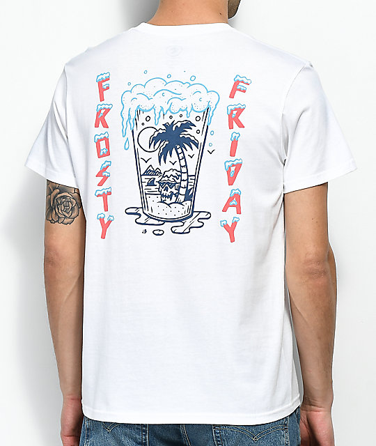 Volcom Fridazed White T-Shirt