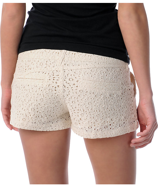 Volcom Frochickie Laced Cream 2.5 Shorts