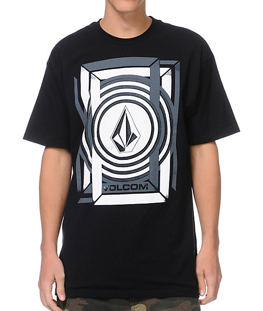 Volcom Geovanni Black T-Shirt