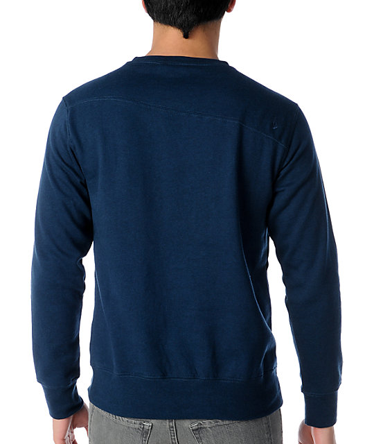 Volcom Getta Navy Crew Neck Sweatshirt