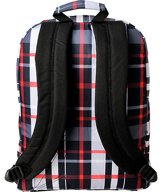 Volcom Girls Schooly Checks Backpack