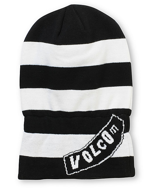 Volcom Happy Black & White Face Mask