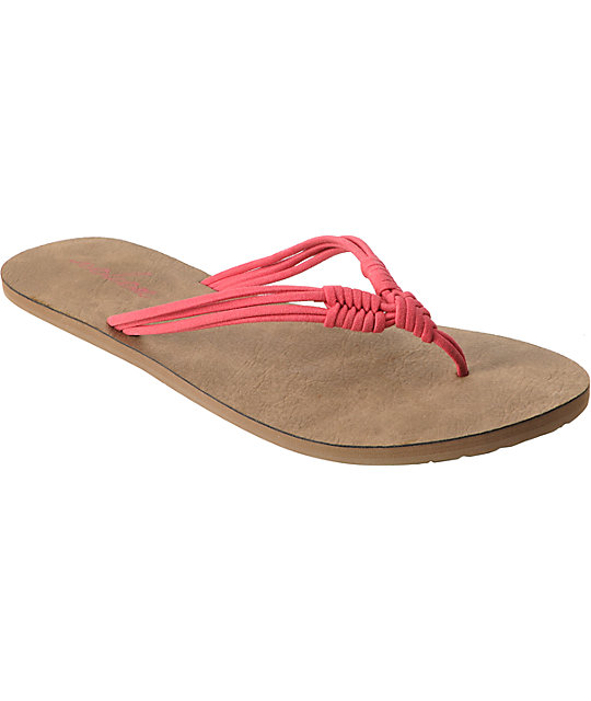 Volcom Have Fun Coral Creedler Sandals