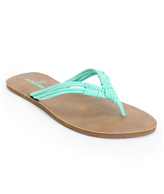 Volcom Have Fun Mint Sandals