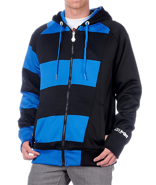 Volcom Iceman Blue Tech Fleece Jacket