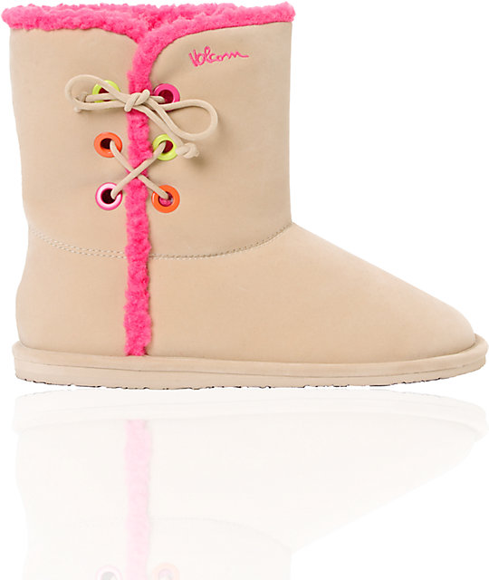 Volcom In Love Tan Boot