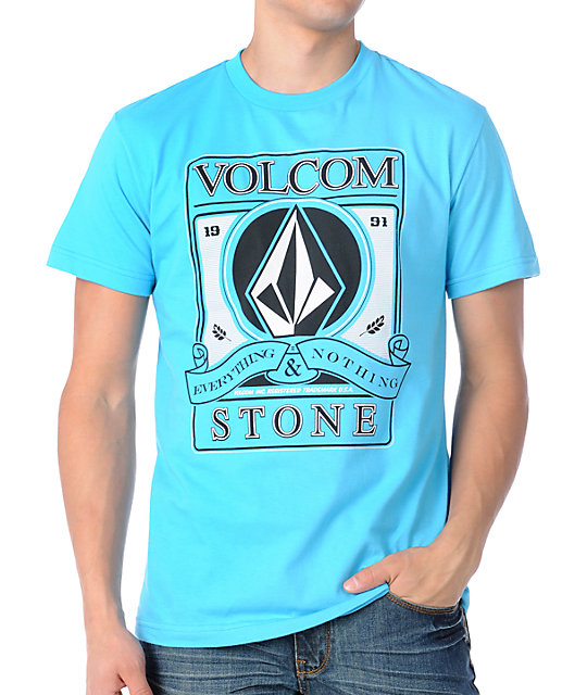 Volcom Industry Blue T-Shirt