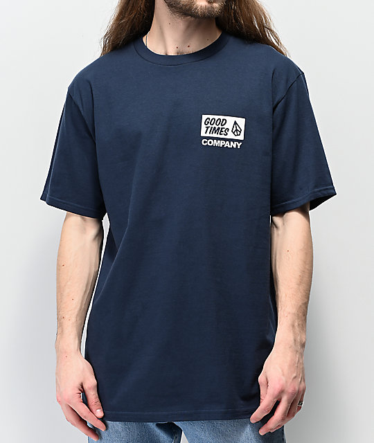 Volcom Is Good Navy T-Shirt