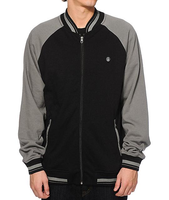 Volcom Kilmer Zip Up Crew Neck Sweatshirt  5db21559531d