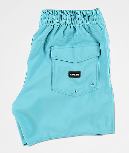 Volcom Lido Volley Teal Board Shorts