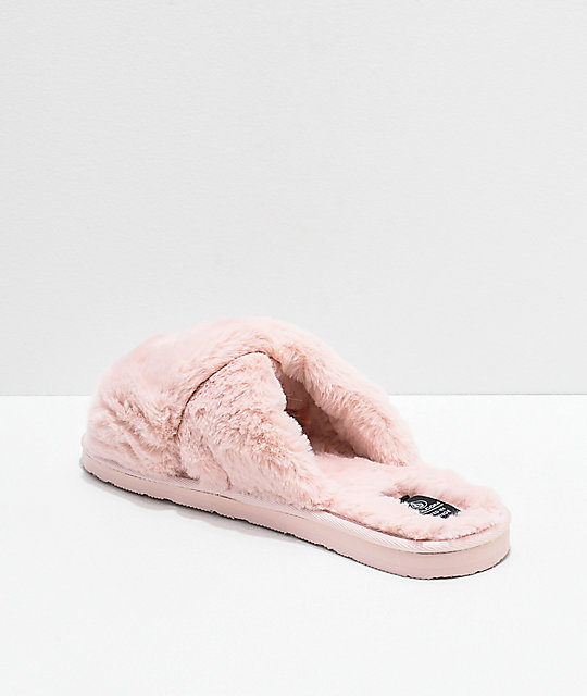Volcom Lil Slip Cloud Pink Slipper Sandals