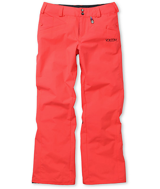 Volcom Logic Red 5K Snowboard Pants