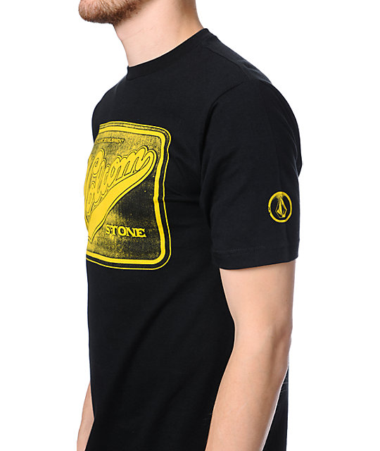 Volcom Main Street Black T-Shirt