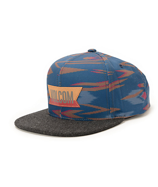d1b803470d6 Volcom Native Navy Snapback Hat