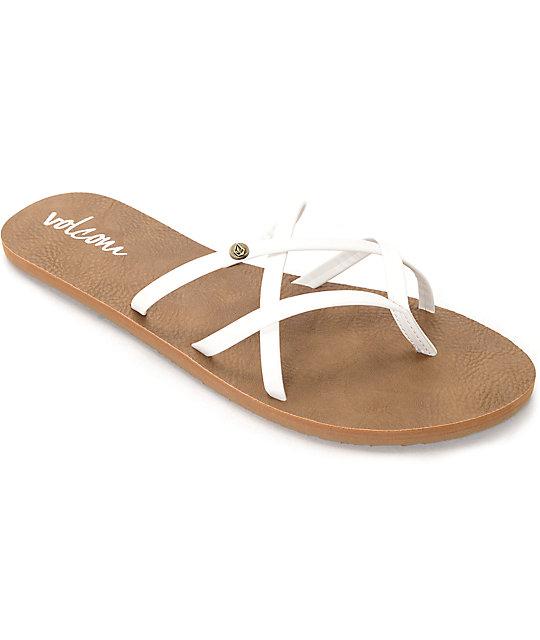 fdcfb5025b5 Volcom New School White Sandals