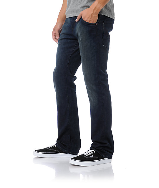 Volcom Nova Dark Rinse Regular Fit Jeans