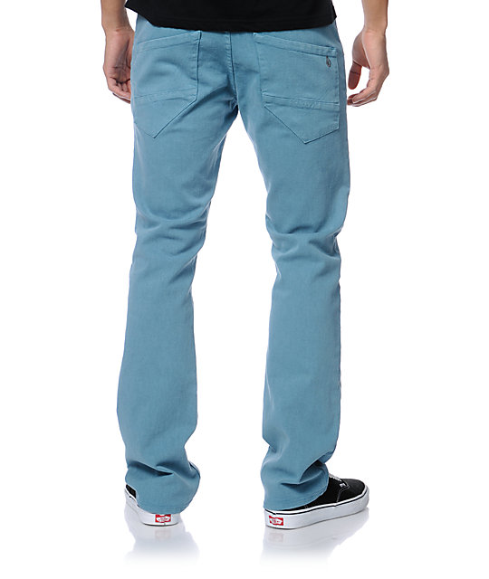 Volcom Nova Sulfur Blue Regular Fit Jeans