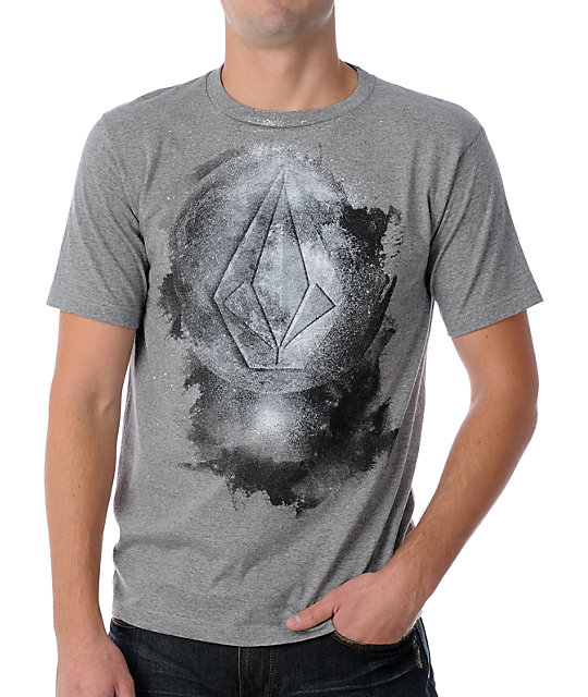 Volcom Planetation Grey T-Shirt