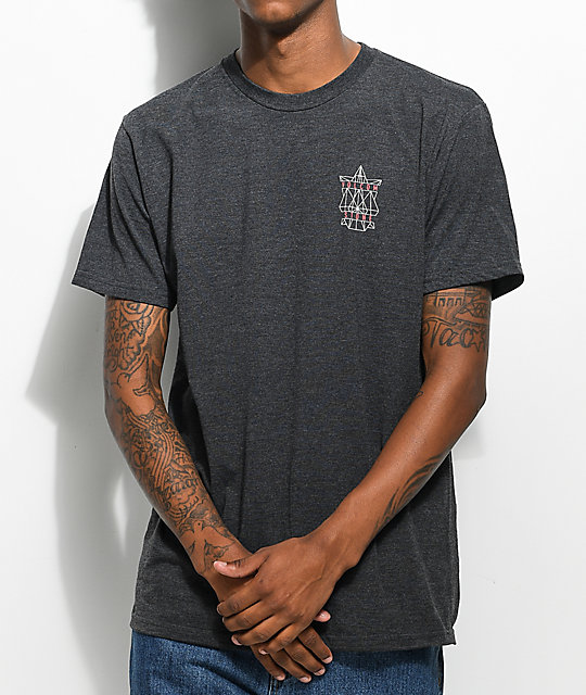 Volcom Puzzle Charcoal T-Shirt