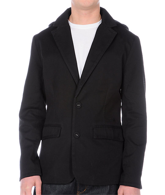 Volcom Reckon Blazer Black Jacket