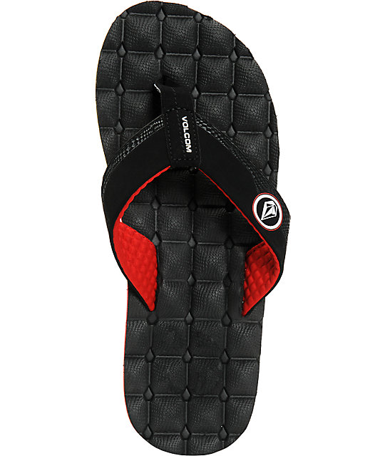 Volcom Recliner Rasta Sandals  Volcom Recliner Rasta Sandals ... 8166c5080cf