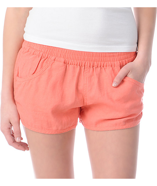 Volcom Rev Up Shortie 2.5 Coral Shorts