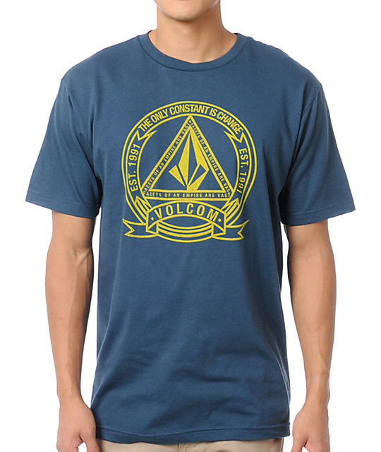Volcom Seal Dark Teal T-Shirt