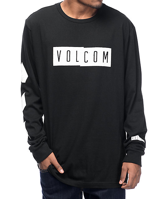 342d24f7 Volcom Shifty Black Long Sleeve T-Shirt | Zumiez
