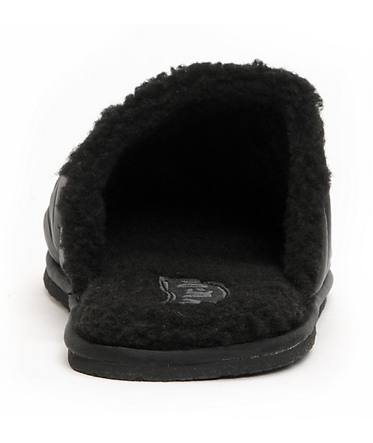 Volcom Slacker Black Slippers