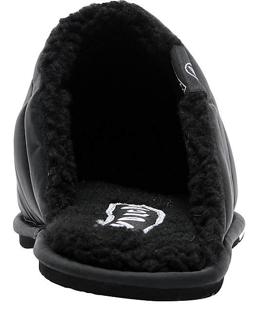 Volcom Slip Slip Slide Creedlers Black Slippers