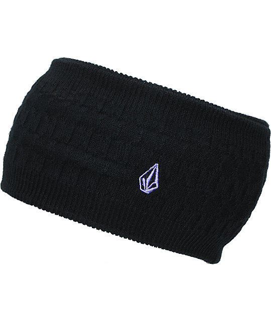 Volcom Sound Black Knit Headband