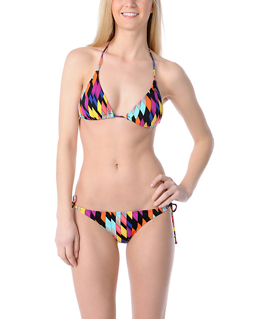Volcom Southern Summer Slash Bikini Bottom