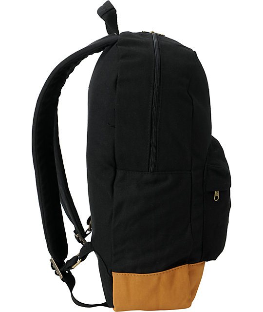 50a39659dad ... Volcom Supply   Demand Black Backpack