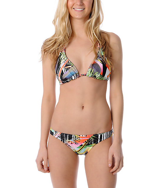 Volcom Tropicalish Black Basic Full Bottom