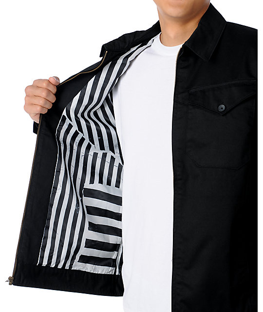 Volcom Tweakin Black Jacket