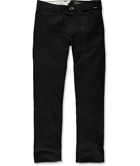 Outlet Perfect Cheap Sale Websites Volcom VSM Gritter Slim Chinos 8Vs3Wxtd70
