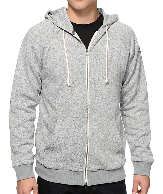 Volcom Vaya Thermal Zip Up Hoodie  99ca415510d