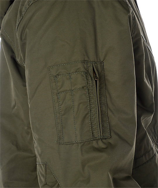 Volcom Vector Olive Jacket