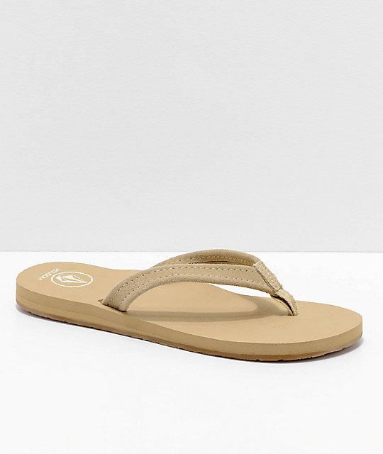 mejor selección 0d5be 6f804 Volcom Victoria sandalias marrones