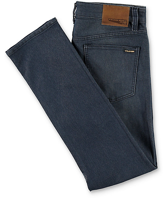 Volcom Vorta Blue Grey Slim Fit Jeans