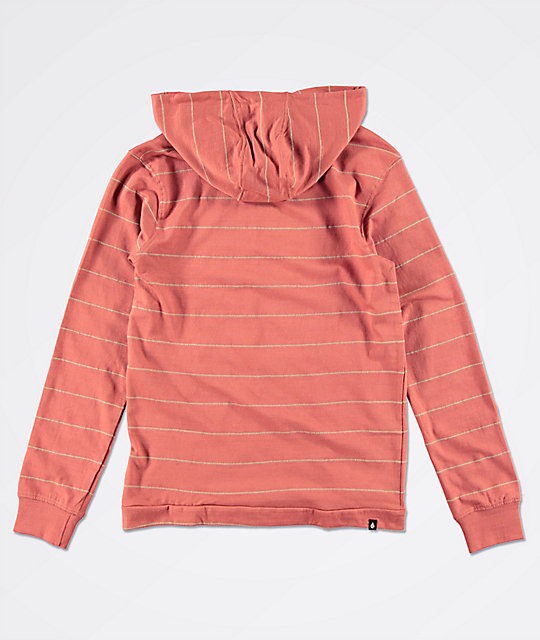 Volcom Wallace Red Hoodie