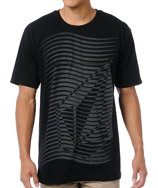 Volcom Wave Stone Black T-Shirt