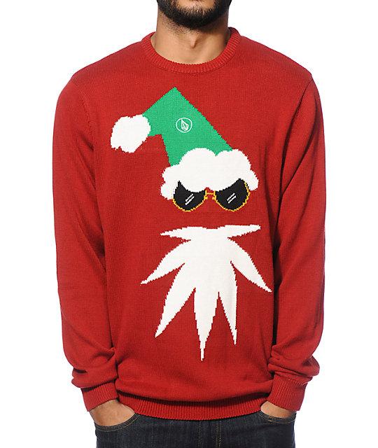 Custom Christmas Sweaters.Volcom Xmas 2 Sweater