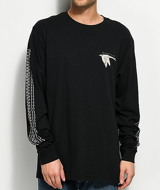 94e1491b Volcom x Kyle Walker Black Long Sleeve T-Shirt | Zumiez