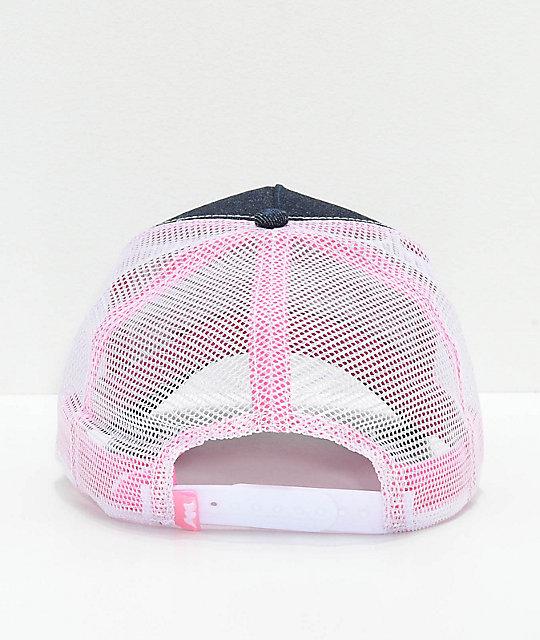 ... Von Dutch Pink   Navy Trucker Hat ... 37f60d290bf