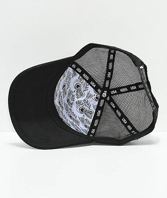 ... Von Dutch USA Black Trucker Hat c2b9be39890