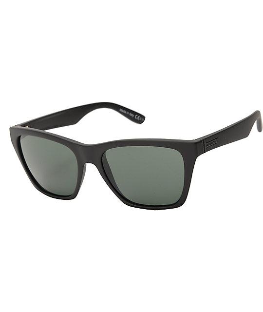 0b986c7848 Von Zipper Booker Black Satin   Grey Sunglasses