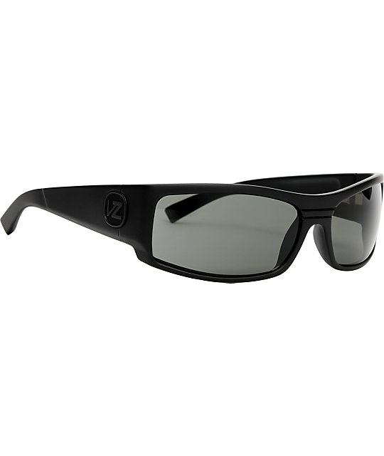 Von Zipper Burnout Black Gloss Sunglasses