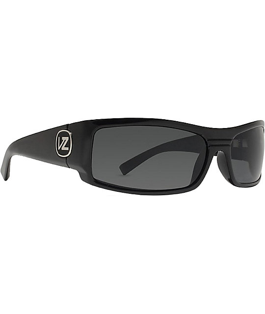 Von Zipper Burnout Polar Black Gloss Sunglasses