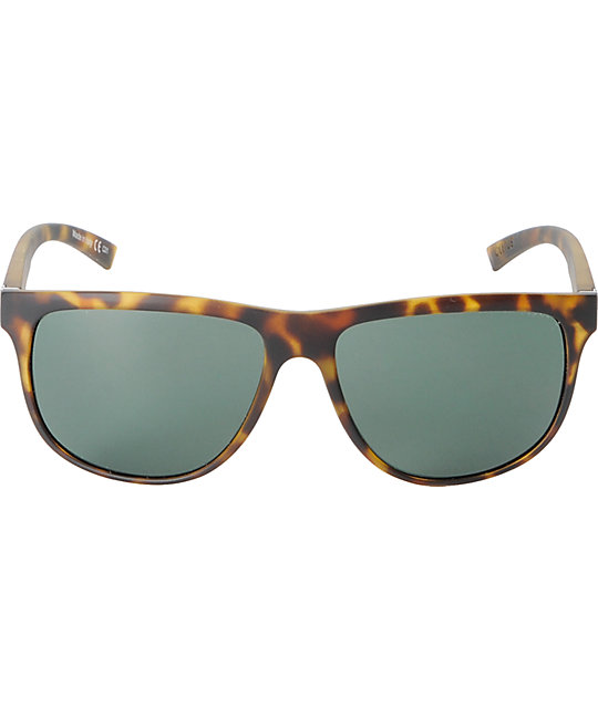 Von Zipper Cletus Tortoise Satin & Grey Sunglasses